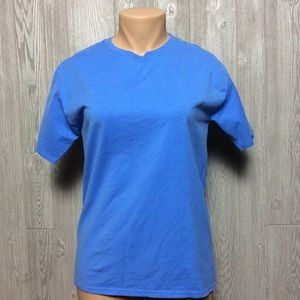 Blue Cotton Tee - PLUS SIZE
